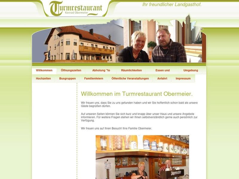 Screenshot von http://www.turmrestaurant-obermeier.de/